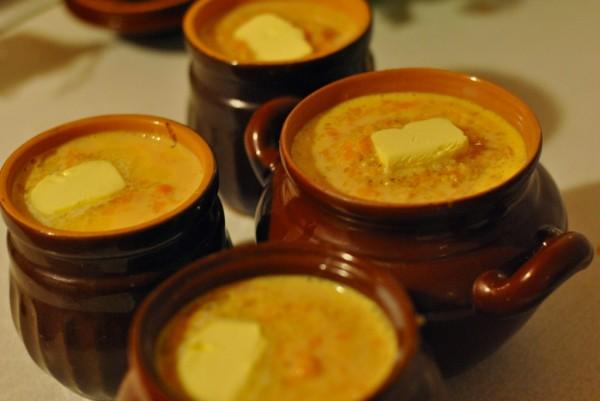 Блюда в горшочке картошка с мясом