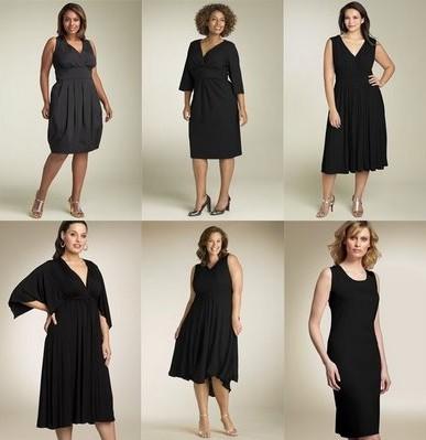 маленькое-черное-платье-для-полных