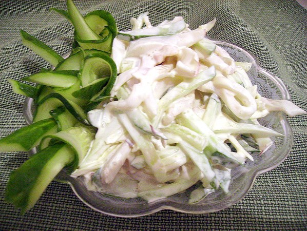 Салат из камаров