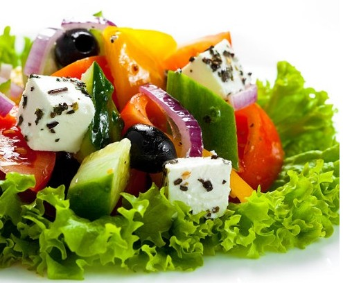 Салат греческий настоящий рецепт с фото