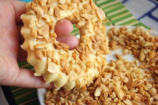 Песочные кольца с арахисом6