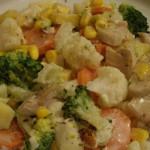Салат из вареных грибов