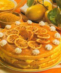 Лимонный торт— рецепт на десерт