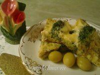 Омлет из капусты брокколи— блюдо для здоровья