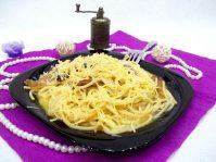 Паста карбонара: рецепт с беконом по-итальянски