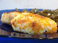 Простенькие котлеты из картофеля и риса