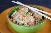 Как вкусно приготовить креветки с рисом