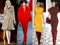 Модная одежда осень 2012