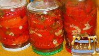 Консервирование сладкого болгарского перца с медом