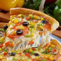 Домашняя пицца с грибами— рецепт от шефа