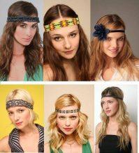 Есть разные способы как носить повязку для волос