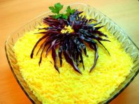 Салат Хризантема для легкого ужина