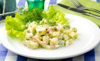Быстрый картофельный салат на каждый день