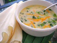 Как приготовить сырный суп вкусно