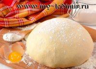 Как приготовить дрожжевое тесто на опаре и безопарным способом