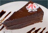Шоколадный торт без яиц, потому что на кефире