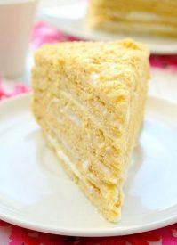 Торт Рыжик медовый— любимый вкус из детства