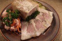 Рулет из свиной рульки: потрясающий рецепт с фото