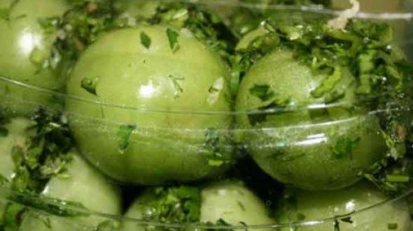 зеленые помидоры маринованные как в магазине рецепт