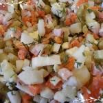 Новый салат оливье