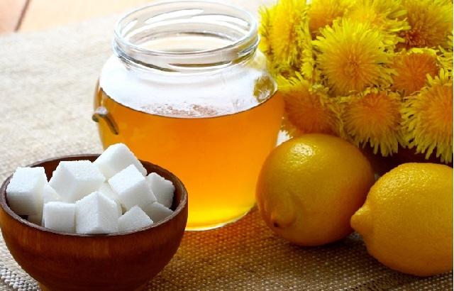сахар, лимон и одуванчики