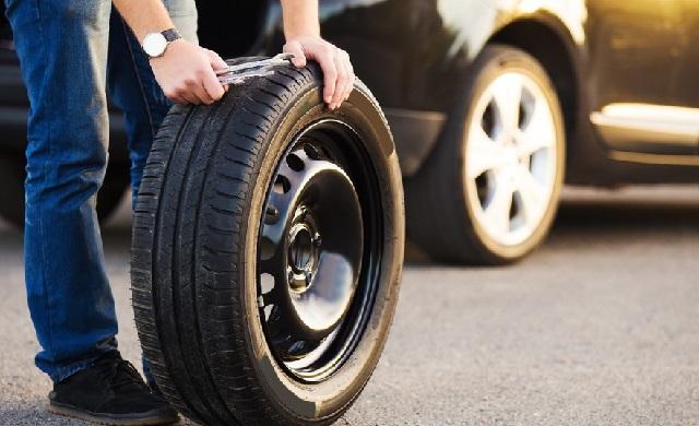 колесо от машины