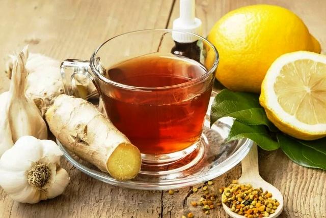 чеснок и чай