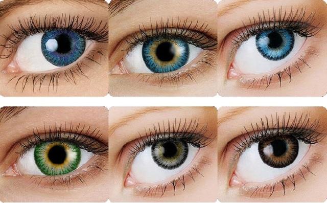 разного цвета глаза