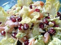 Салат с креветками— Стрелы Амура