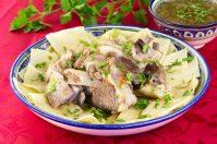 Вкуснейшее блюдо из баранины — Бешбармак