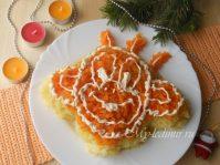 Новогодний салат «Обезьяна»