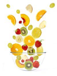 Вот так вкуснотища— фруктовый салат со сливками