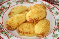 Биточки картофельные с рыбным фаршем
