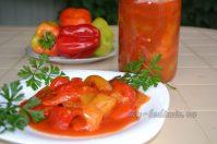 Как приготовить лечо из болгарского перца и томатной пасты