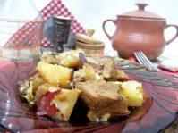 Картошка с мясом в горшочках: пошаговый мастер-класс