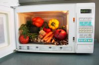 Готовим тушеные овощи в микроволновке