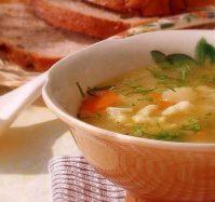 Суп куриный с клецками: как в детском саду