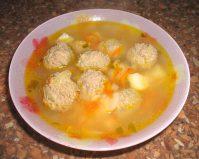 Как приготовить суп с фрикадельками— Быстро