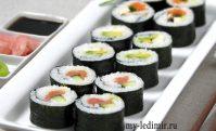 Готовим суши и роллы у себя дома