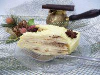 Торт Наполеон из замороженного теста на сковороде для ленивых