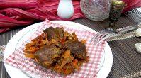 Как приготовить тушеную утку с овощами