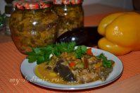 Заготовки на зиму из баклажан— очень вкусная закуска «Баната»